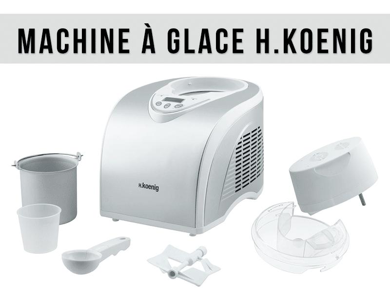 Machine à glace H.Koenig